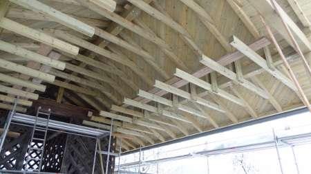 prekrivanje strehe, tesarstvo, ostrešje, skoblanje, vezava ostrešja, impregniranje, globinska zaščita lesa
