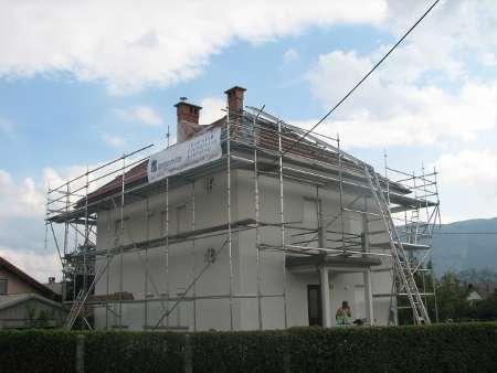 Fasadni oder uporabljen za varovanje pri delu na strehu