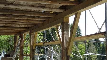 Globinsko zaščiteni leseni elementi