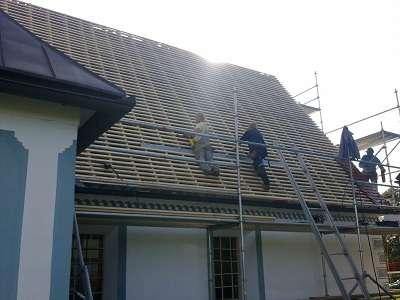 Letvanje strehe, prekrivanje strehe, izravnava strehe, bobrovec