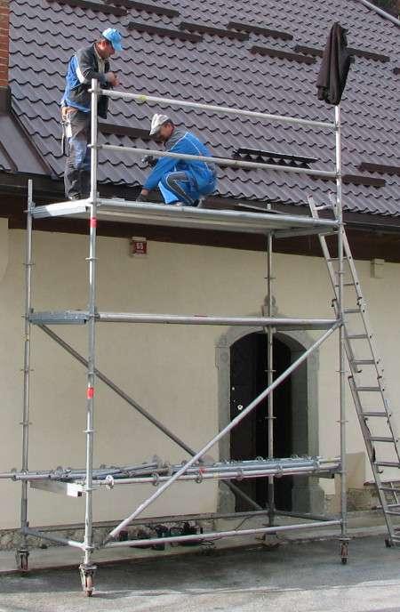 Pomični fasadni oder